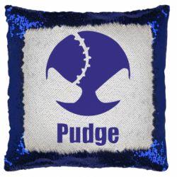 Подушка-хамелеон Pudge