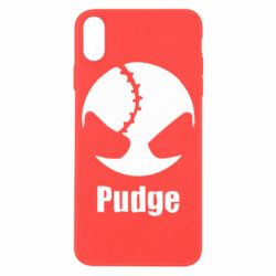 Чехол для iPhone X Pudge - FatLine