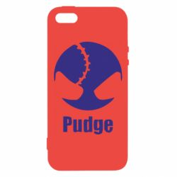 Чехол для iPhone5/5S/SE Pudge - FatLine