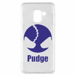 Чехол для Samsung A8 2018 Pudge - FatLine