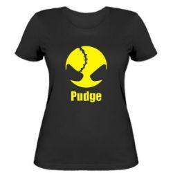 Женская футболка Pudge - FatLine