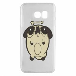 Чохол для Samsung S6 EDGE Pug and bone
