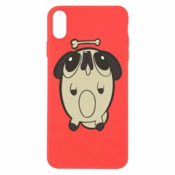 Чохол для iPhone Xs Max Pug and bone