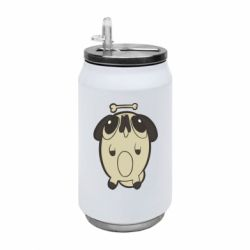 Термобанка 350ml Pug and bone