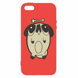Чохол для iphone 5/5S/SE Pug and bone