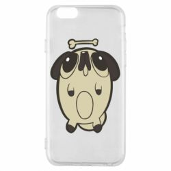 Чохол для iPhone 6/6S Pug and bone