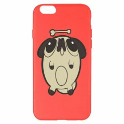 Чохол для iPhone 6 Plus/6S Plus Pug and bone