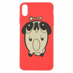 Чохол для iPhone X/Xs Pug and bone