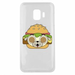 Чохол для Samsung J2 Core Pug Hamburger