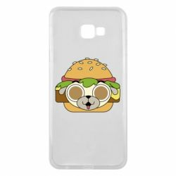 Чохол для Samsung J4 Plus 2018 Pug Hamburger