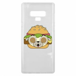 Чохол для Samsung Note 9 Pug Hamburger