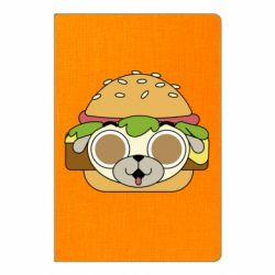 Блокнот А5 Pug Hamburger