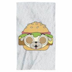 Рушник Pug Hamburger