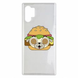 Чохол для Samsung Note 10 Plus Pug Hamburger