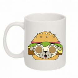 Кружка 320ml Pug Hamburger