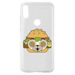 Чохол для Xiaomi Mi Play Pug Hamburger