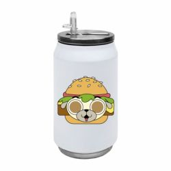 Термобанка 350ml Pug Hamburger
