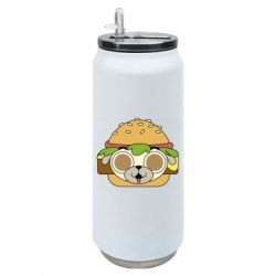 Термобанка 500ml Pug Hamburger