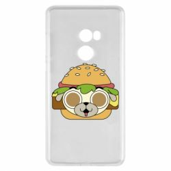 Чохол для Xiaomi Mi Mix 2 Pug Hamburger