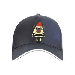 Кепка Pug in a hat