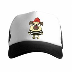 Кепка-тракер Pug in a hat