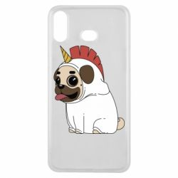 Чехол для Samsung A6s Pug in the suit