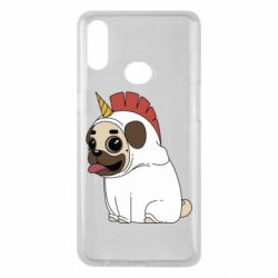 Чехол для Samsung A10s Pug in the suit