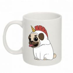 Кружка 320ml Pug in the suit