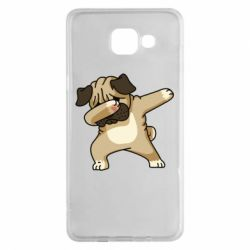 Чохол для Samsung A5 2016 Pug Swag