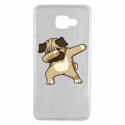 Чохол для Samsung A7 2016 Pug Swag