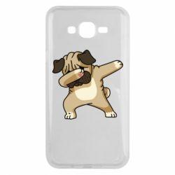 Чохол для Samsung J7 2015 Pug Swag