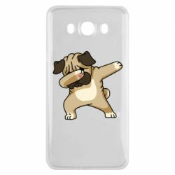 Чохол для Samsung J7 2016 Pug Swag