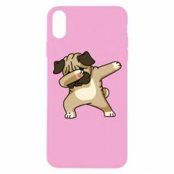 Чохол для iPhone Xs Max Pug Swag