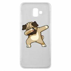 Чохол для Samsung J6 Plus 2018 Pug Swag