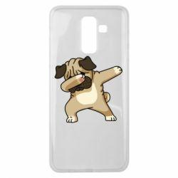 Чохол для Samsung J8 2018 Pug Swag