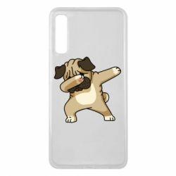Чохол для Samsung A7 2018 Pug Swag
