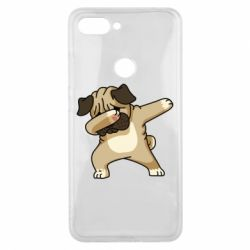 Чохол для Xiaomi Mi8 Lite Pug Swag