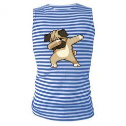 Майка-тільняшка Pug Swag