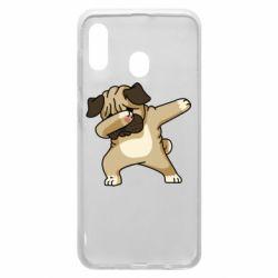 Чохол для Samsung A20 Pug Swag