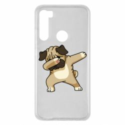 Чохол для Xiaomi Redmi Note 8 Pug Swag