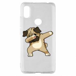 Чохол для Xiaomi Redmi S2 Pug Swag