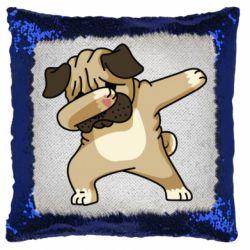 Подушка-хамелеон Pug Swag