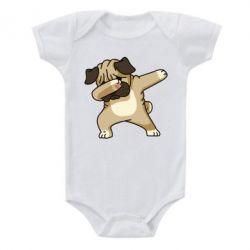 Дитячий бодік Pug Swag
