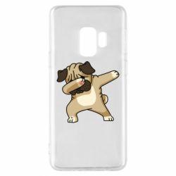 Чохол для Samsung S9 Pug Swag