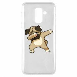Чохол для Samsung A6+ 2018 Pug Swag