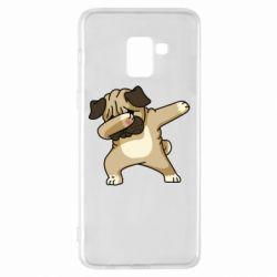 Чохол для Samsung A8+ 2018 Pug Swag