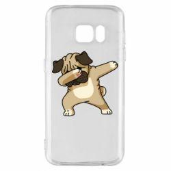 Чохол для Samsung S7 Pug Swag