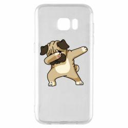 Чохол для Samsung S7 EDGE Pug Swag
