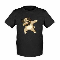 Дитяча футболка Pug Swag