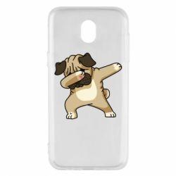 Чохол для Samsung J5 2017 Pug Swag